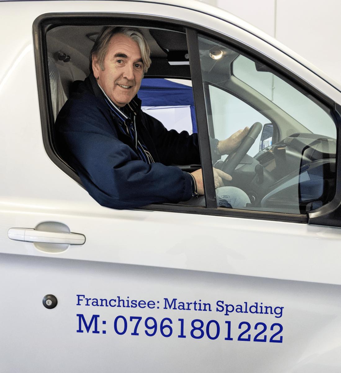Martin Spalding from Harrogate