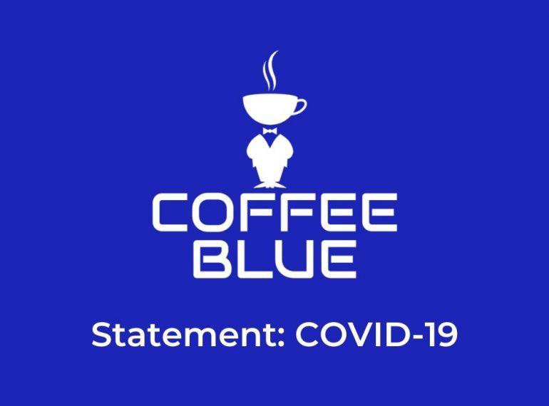 Coffee Blue Coronavirus