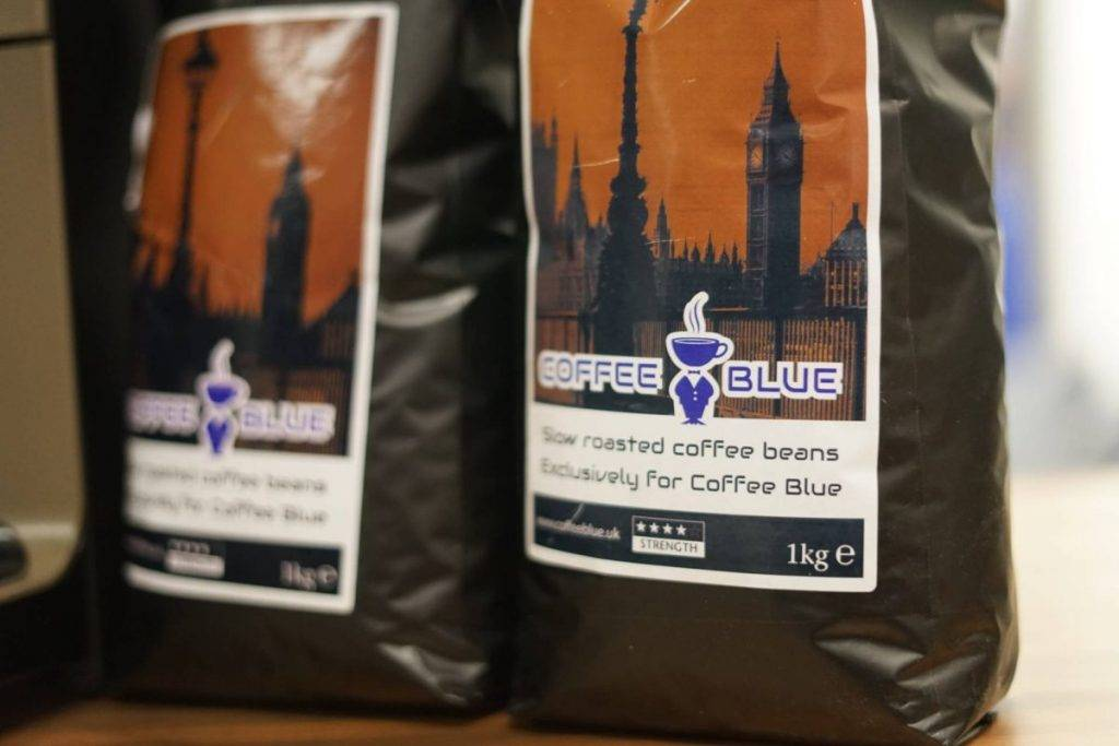 Coffee Blue Wholesale Beans
