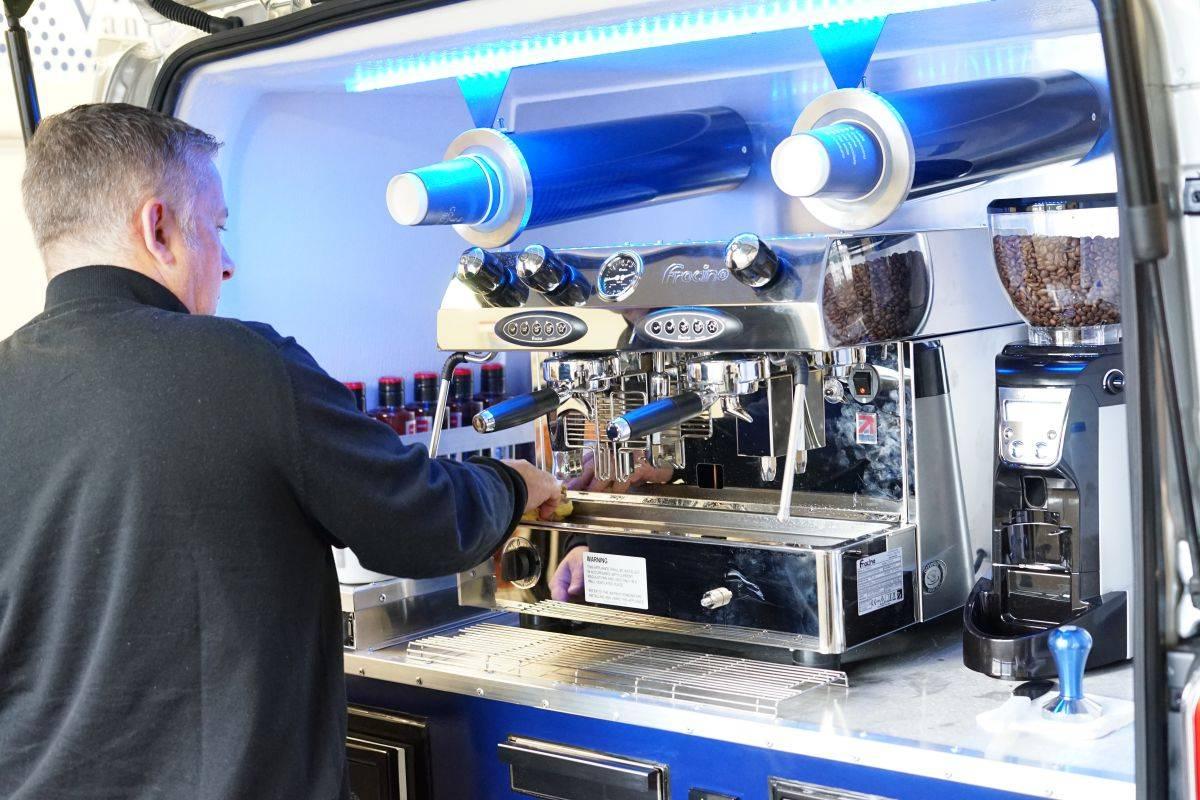 mobile coffee van milton keynes
